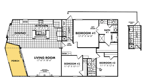 1 bedroom modular homes floor plans double wide mobile homes floor plans factory expo home center 12 4