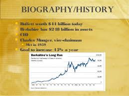 Warren Buffet Autobiography by Warren Buffett U0027s Biography