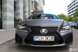 lexus rc or gs lexus rc f 16 may 2017 autogespot