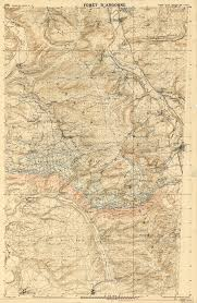 World War One Map by Harvard Map Collection Exhibits Maps Of The Trenches In World War