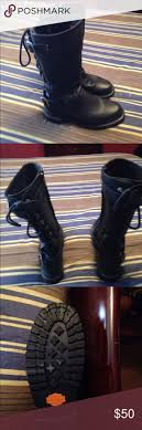 womens harley boots size 9