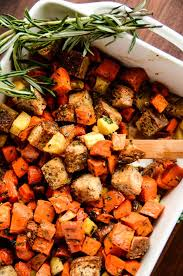 Oven Roasted Root Vegetables Balsamic - root vegetable panzanella with balsamic herb dressing blissful basil
