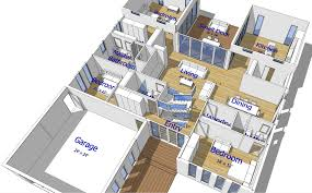 Million Dollar Floor Plans by Buy Our 3 Level Steel Frame Home 3d Floor Plan Next Generation