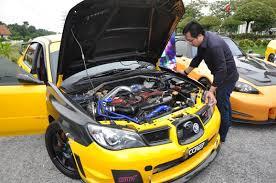 subaru impreza malaysia honda sponsors inaugural import nights hin 2011 in malaysia