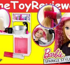 Barbie Style Doll Reviews And by Barbie Sparkle Style Salon Doll Glitter Hairstyle Hair Glitter
