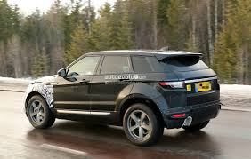 first range rover ever made 2019 range rover evoque phev to have fewest cylinders of all land