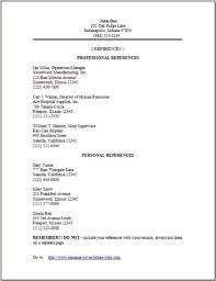resume examples references haadyaooverbayresort com
