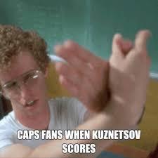 Meme Caps - meme caps fans when kuznetsov scores penguins