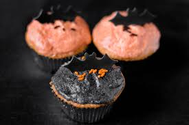 Halloween Bat Treats How To Bake Black Bat Cupcakes 11 Steps With Pictures Wikihow
