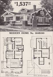 arts and crafts style home plans sears craftsman style house modern home 264b240 the corona