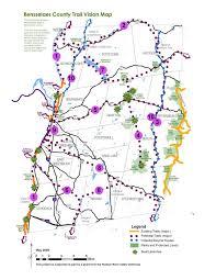 Troy New York Map by Partner Trails Rensselaer Land Trust
