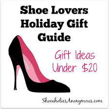 shoe lovers holiday gift guide 5 gift ideas under 20