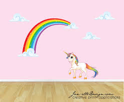 zspmed of unicorn wall decal ideal in small home decoration ideas
