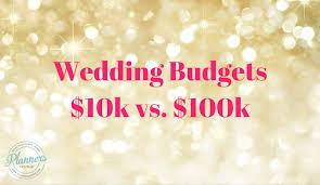 weddings 10k planning 10k weddings versus 100k weddings
