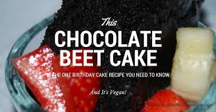 chocolate beet cake recipe with vegan chocolate ganache