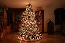 beautifully decorated homes christmas tree beautiful christmas lights decoration