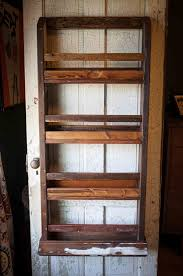 Pallet Wood Bookshelf Pallet Wood Wall Hanging Magazine Rack 101 Pallets