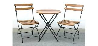 Outdoor Bistro Table Set Folding Bistro Set Metal Folding Bistro Table Set Outdoor Folding