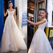 wedding dress hire discount 2018 milla wedding dresses square neck a line