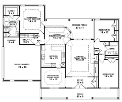 1 story open floor plans small 1 story cottage house plans 1 2 story house floor plans one