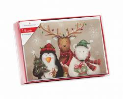 winter friends boxed cards 14 count shop american