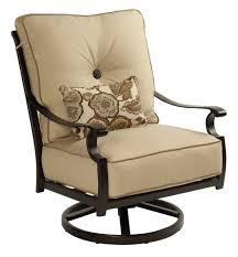 Swivel Rocker Patio Chair by Castelle Monterey Swivel Rocker All Things Barbecue