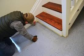 New Basement Floor - pleasant idea epoxy paint for basement floors bathroom floor new