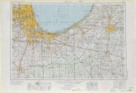Chicago United States Map by Chicago Topographic Map Sheet United States 1970 Full Size