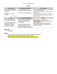 using subordination adding clauses by gtbenet teaching