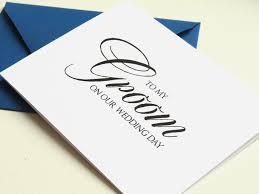 Wedding Day Card For Groom Wedding Day Cards