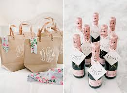 wedding gift bag ideas bridesmaids goodie bags wally designs