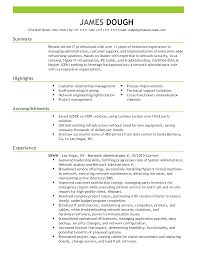 Best Resume Network Administrator by Network Security Administrator Sample Resume