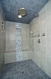 Bathroom Floor Tile Designs Beautiful Tilework Highlights This Steam Shower Tile Beautiful