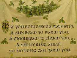irish thanksgiving prayer free irish blessing wallpaper wallpapersafari