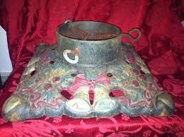vintage tree stand antique german cast iron