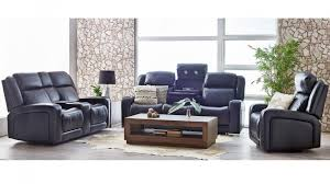 three seater recliner sofa buy hden 3 seater powered leather recliner sofa harvey norman au