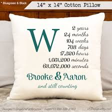 two year anniversary gift ideas awesome wedding anniversary 2 years gift wedding gifts
