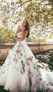 The 25 Best Floral Wedding Dresses Ideas On Pinterest Floral