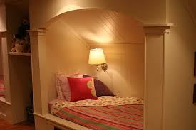Built In Bedroom Furniture Bedroom Creative White Shade Wall Lights Fixture With Built In