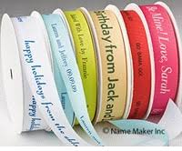printed ribbons everyday personalized printed ribbons gifts for
