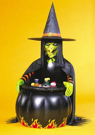 halloween inflatables cheap more witch coven halloween party ideas