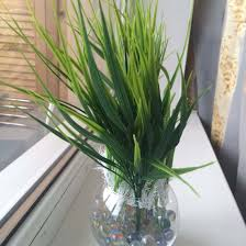 Plants For Desk Aliexpress Com Buy Big Sale 7 Fork Green Grass Artificial Plants