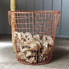 waste paper baskets copper waste paper bin by marquis u0026 dawe notonthehighstreet com