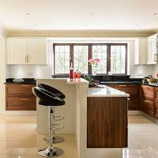 walnut kitchen ideas modern kitchen with walnut units kitchen decorating
