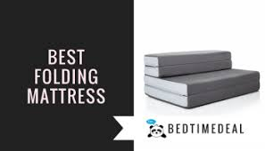 Folding Mattress Bed Best Guest Bed Solutions