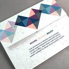 mailing wedding invitations geometric seal and send invitation seal and send wedding