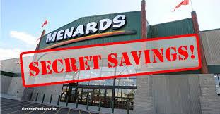 menards price match menard s secret 11 rebate it s not the 11 sale