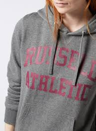 womens online exclusive russell athletic logo hoodie tu clothing