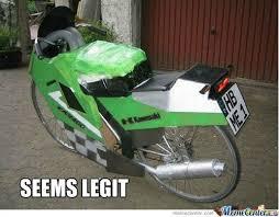 Funny Motorcycle Meme - new kawasaki motorbike by pavapizza meme center