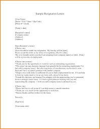 7 different type of resignation letters cashier resumes